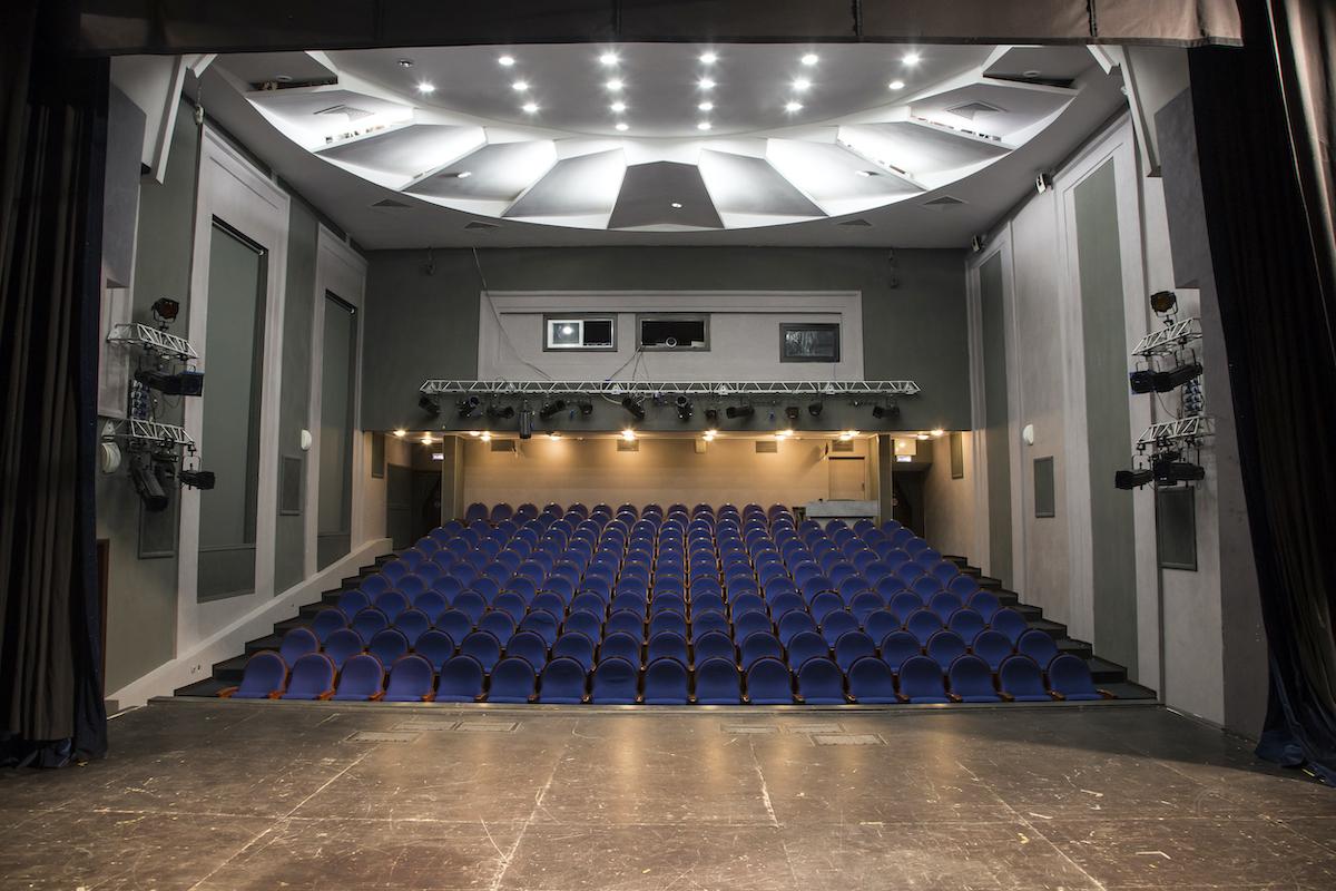 Схема зала Московский Губернский театр (Малая сцена)
