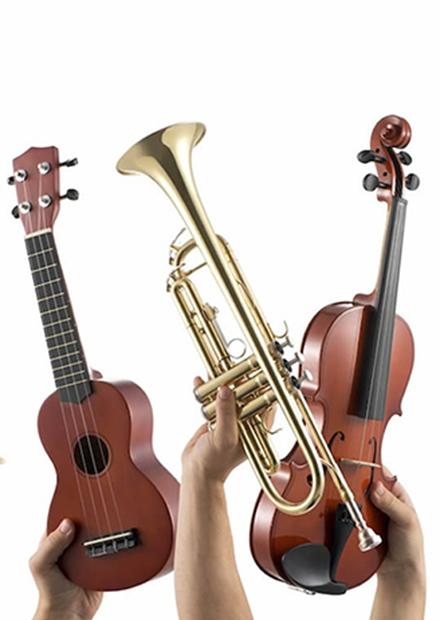 Музыкальные инструменты: что у них внутри?