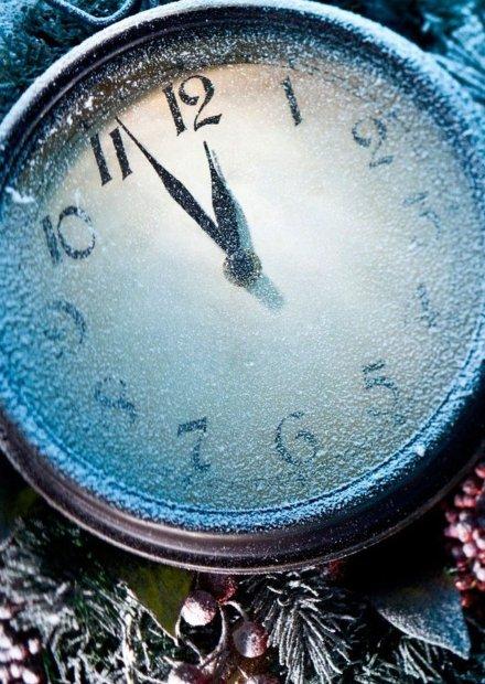 Часы двенадцать бьют