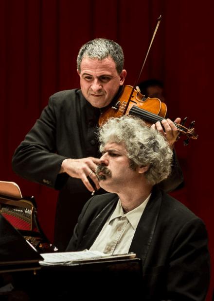Доменико Нордио (скрипка, Швейцария), Михаил Лидский (фортепиано)